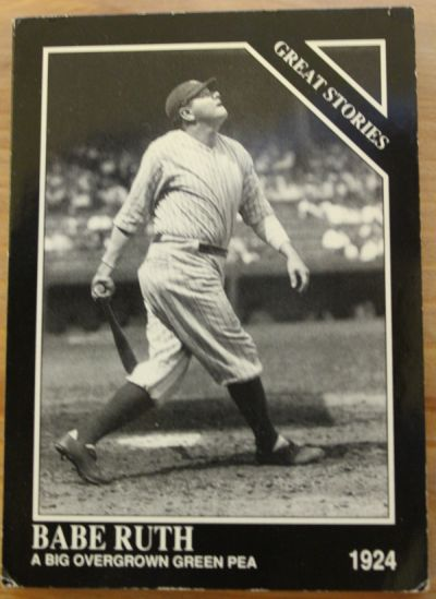 1992 Conlon Collection Babe Ruth